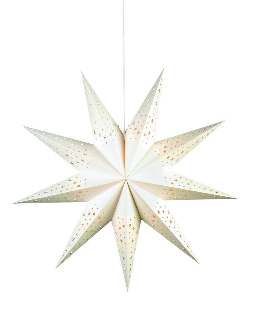 OLVALLA Csillag 75 cm-es fehér könyv
