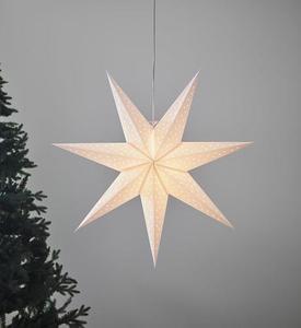 CLARA medál fehér csillag 75cm small 0