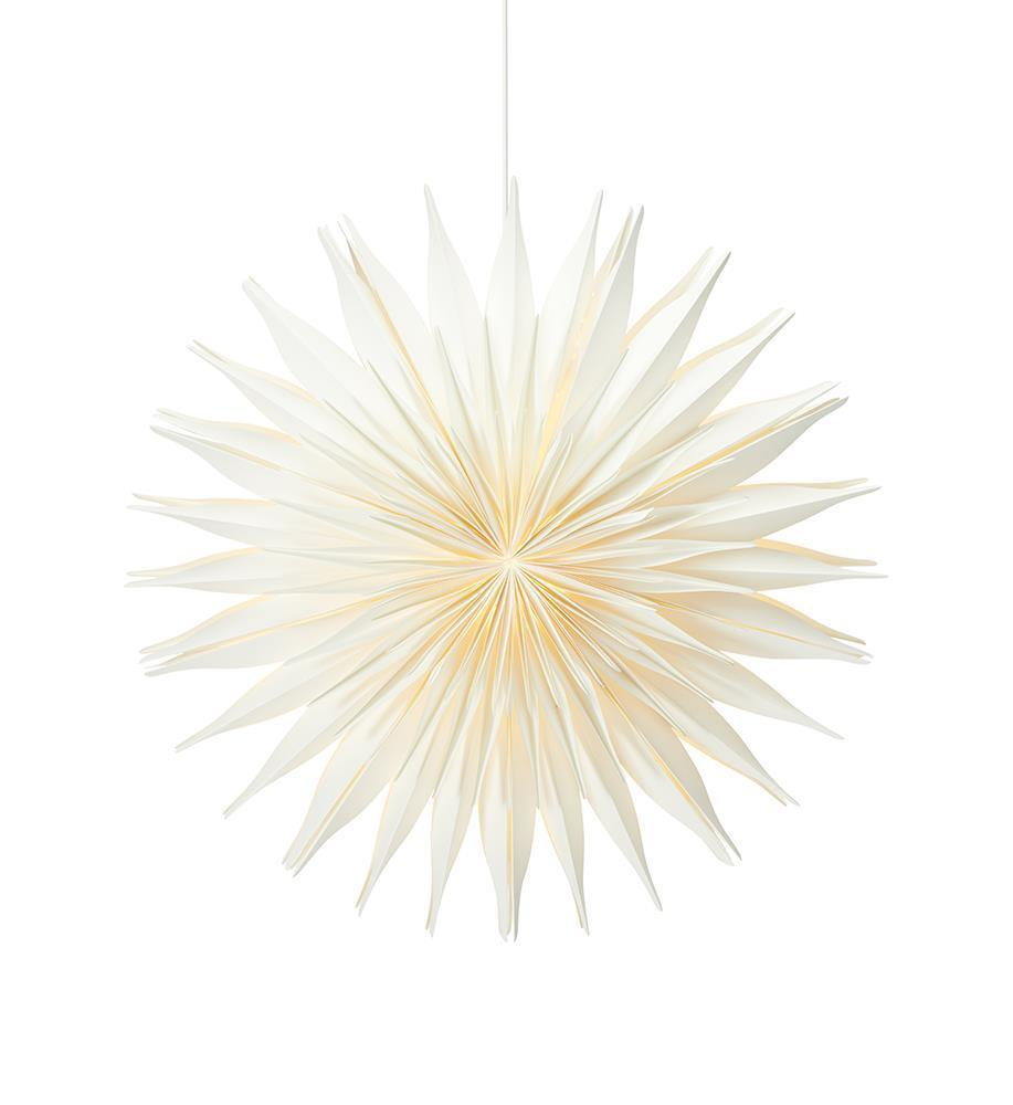 Lovisa papírcsillag 60cm fehér
