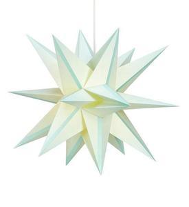 Skillinge 3D papírcsillag Lightblue medál small 1