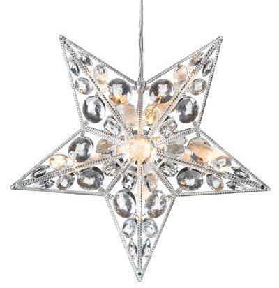 Harnosand Star LED 30 cm-es akril