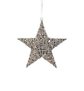 BODANE medál Star Deco 40 cm szürke small 1