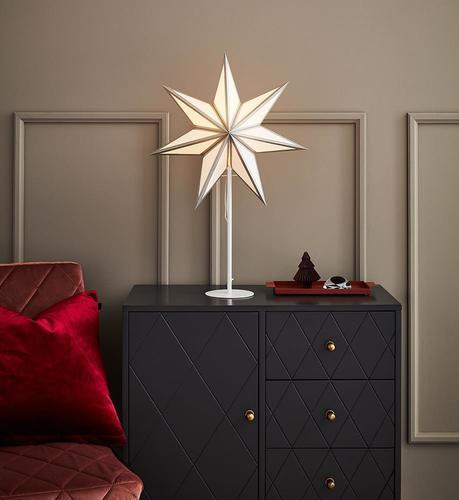 ADELA Csillagok táblája 45 H65 fehér / ezüst