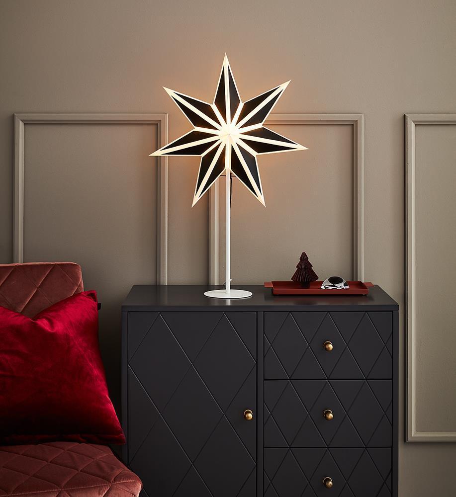 ADELE Csillagok táblája 45 H65 fekete-fehér