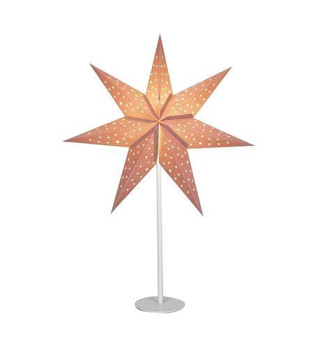 CLARA asztali csillag 45 rózsaszín