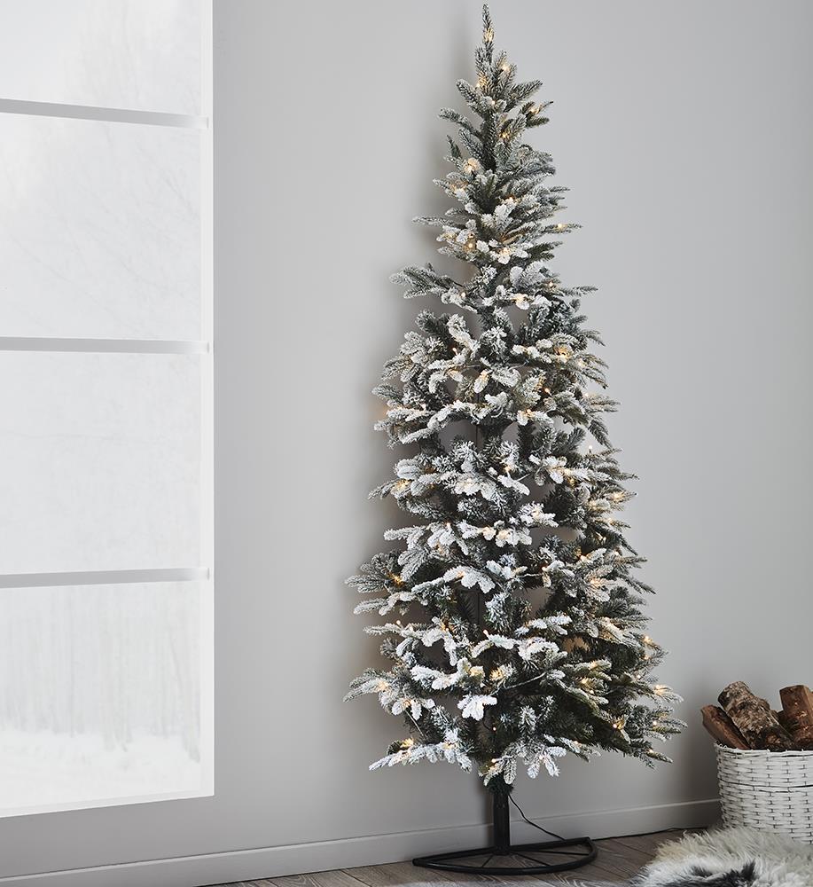 Markslojd GRANLUND Hóval borított zöld karácsonyfa 120L 210cm x 80cm