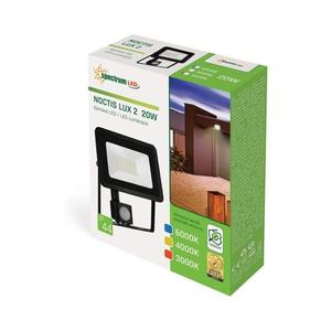 Noctis Lux 2 Smd 230 V 20 W Ip44 Nw fekete érzékelővel small 1