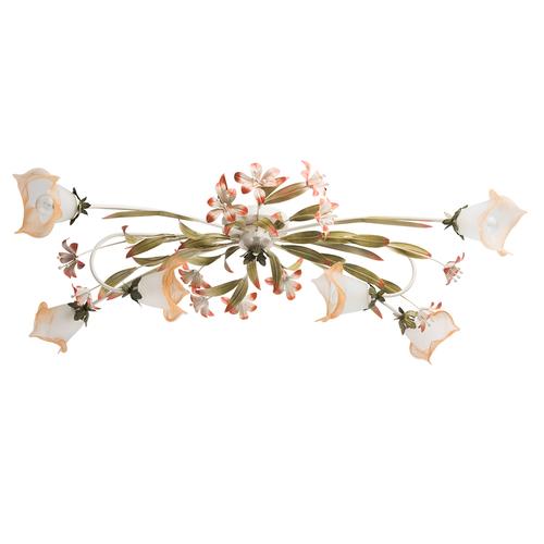 Verona Flora 6 bézs lámpa - 1340506