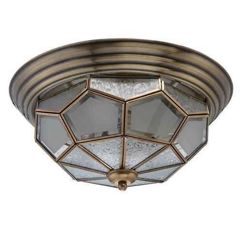 Marquis Country 3 sárgaréz függő lámpa - 397010403