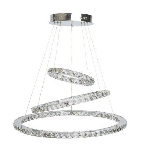Crystal 144 medál lámpa króm - 498011903