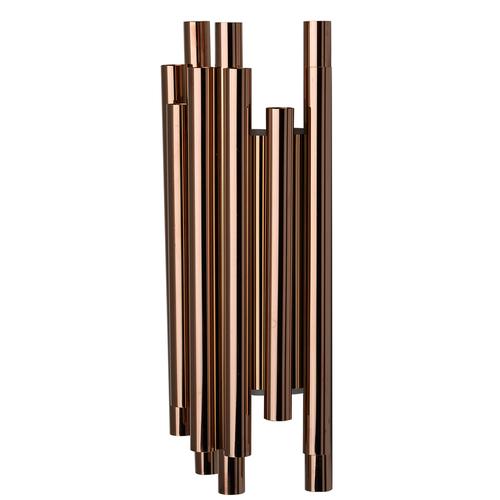 Flensburg Hi-Tech 8 Copper fali lámpa - 609022508