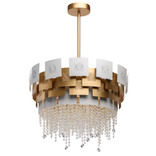 Carmen Crystal 6 Gold függőlámpa - 394011006