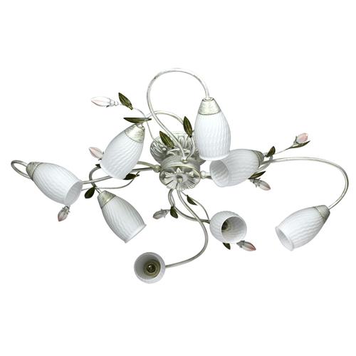 Verona Flora 8 fehér függőlámpa - 334013908