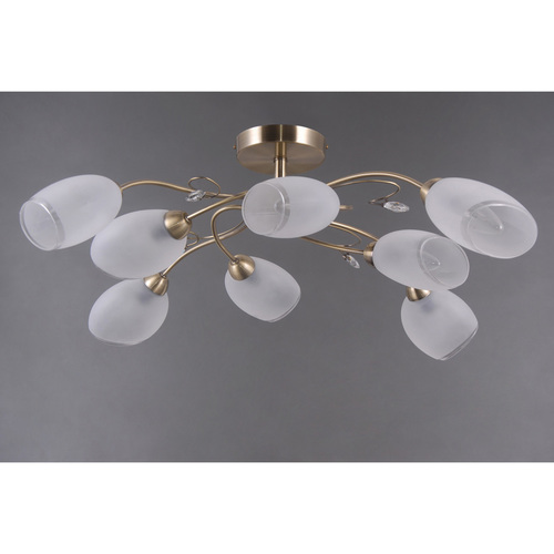 Lógó lámpa Monica Classic 8 Sárgaréz - 372014108