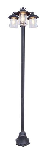 Ipari 3 pontos kerti lámpa Lutec CATE