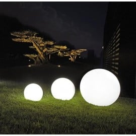 Dekoratív kerti gömbkészlet - Luna Balls 25, 30, 40 cm + Led izzók small 4