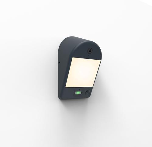 Lutec MIMO kültéri lámpa kamerával, mozgásérzékelővel és hangszóróval