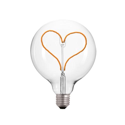 Dekoratív LED szívlámpa E27 3.5W 2000k 230V