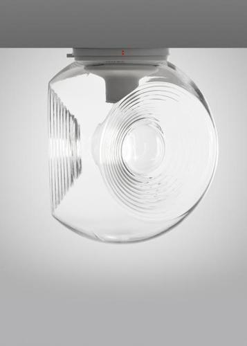 Mennyezeti Fabbian Eyes króm tetőbélés - átlátszó - F34G0100