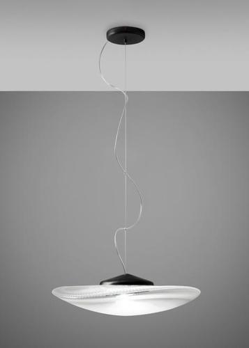 Függő lámpa Fabbian Loop 7W Fekete tetőbélés - F35A0300