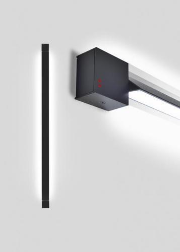 Fabbian Pivot 46W 3000K fali lámpa - antracit - F39G0321