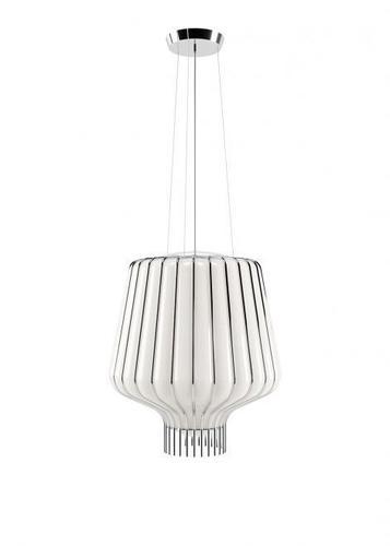 Függő lámpa Fabbian Saya F47 22W 40cm - Króm - F47A11 01