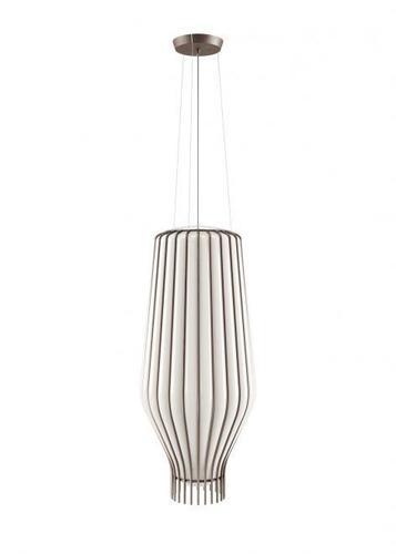 Függő lámpa Fabbian Saya F47 22W 31cm - fehér és barna - F47A18 01