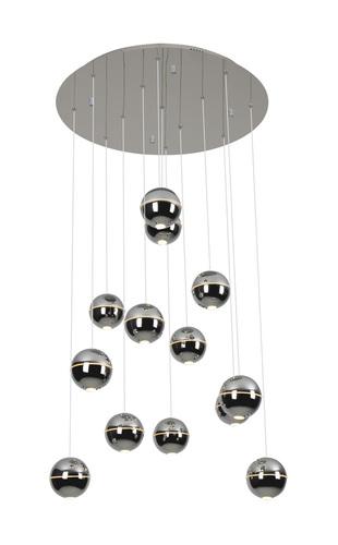 Zen 13 medál lámpa króm P0317 Max Light