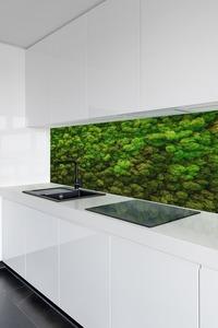Fali moha, rénszarvas karcolás a falon, zöld falak otthon, dekoráció small 1