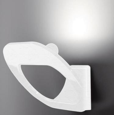 Fabbian DOMINA fehér fali lámpa