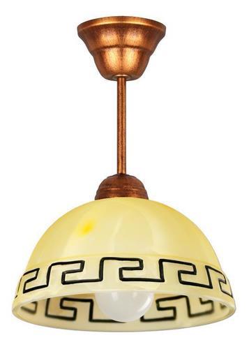 Retro medál lámpa