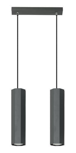 Modern Astral 2 fekete medál lámpa