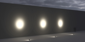 Platek Medium SUN reflektor - LED 3 COB 4000K 14 ° small 2