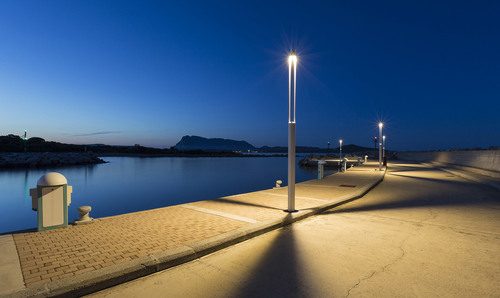 Platek kerti lámpa - TRIS COB LED 3000K