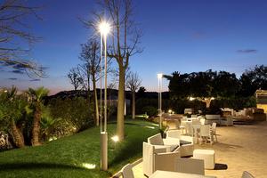 Platek kerti lámpa - TRIS COB LED 3000K small 4