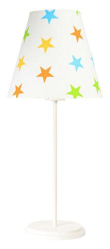 Asztali lámpa Ombrello 60W E27 50cm színes csillagok