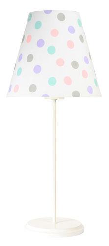 Gyermek asztali lámpa Ombrello 60W E27 50cm pasztell pöttyök