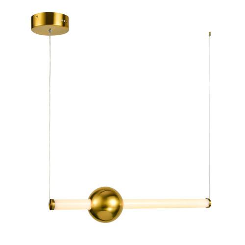 Réz Halling LED medál lámpa