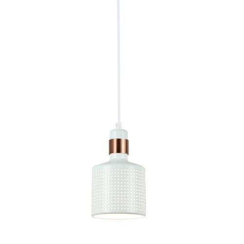 Fehér függesztett lámpa Restenza E27