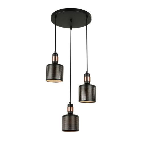 Modern függesztett lámpa Restenza E27 3 izzó