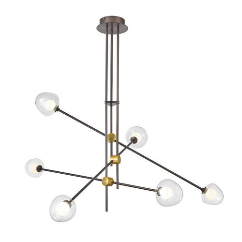Bronze Romily LED medál lámpa