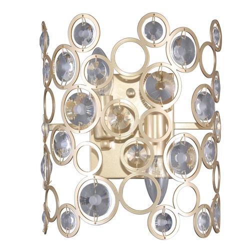 Modern arany fali lámpa Nardo E14 2-izzó