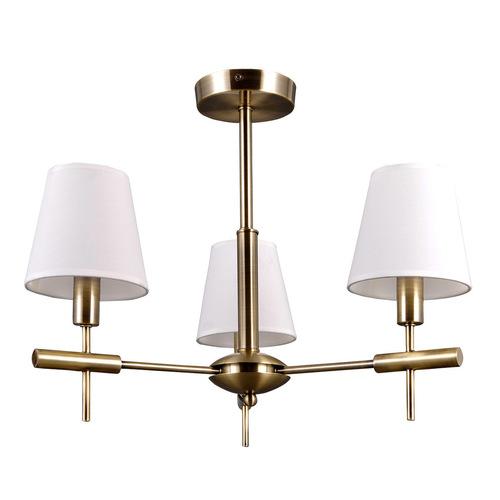 Stilizált Arany Balter E14 csillár 3 izzós