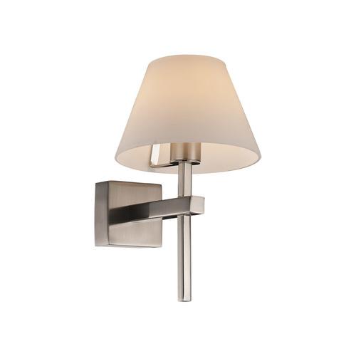 Szatén fürdőszoba fali lámpa Melvin G9
