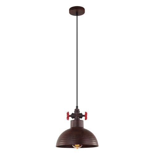 Réz medál lámpa Scrulo E27