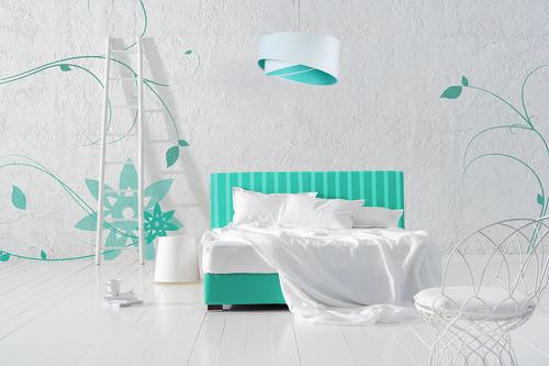 Elegáns lámpa tinédzser 60W E27 fehér / színek
