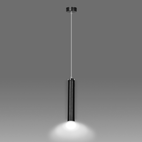 Függő lámpa LUNA 1 FEKETE