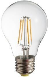 LED izzó izzó POLUX A60 E27 450lm