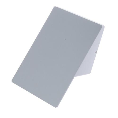 Sima 10 W-os LED IP44 fehér homlokzati világítótest
