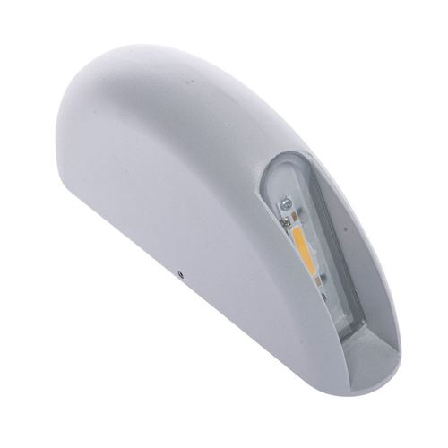 Fehér fal 3 W LED IP44 lámpatest